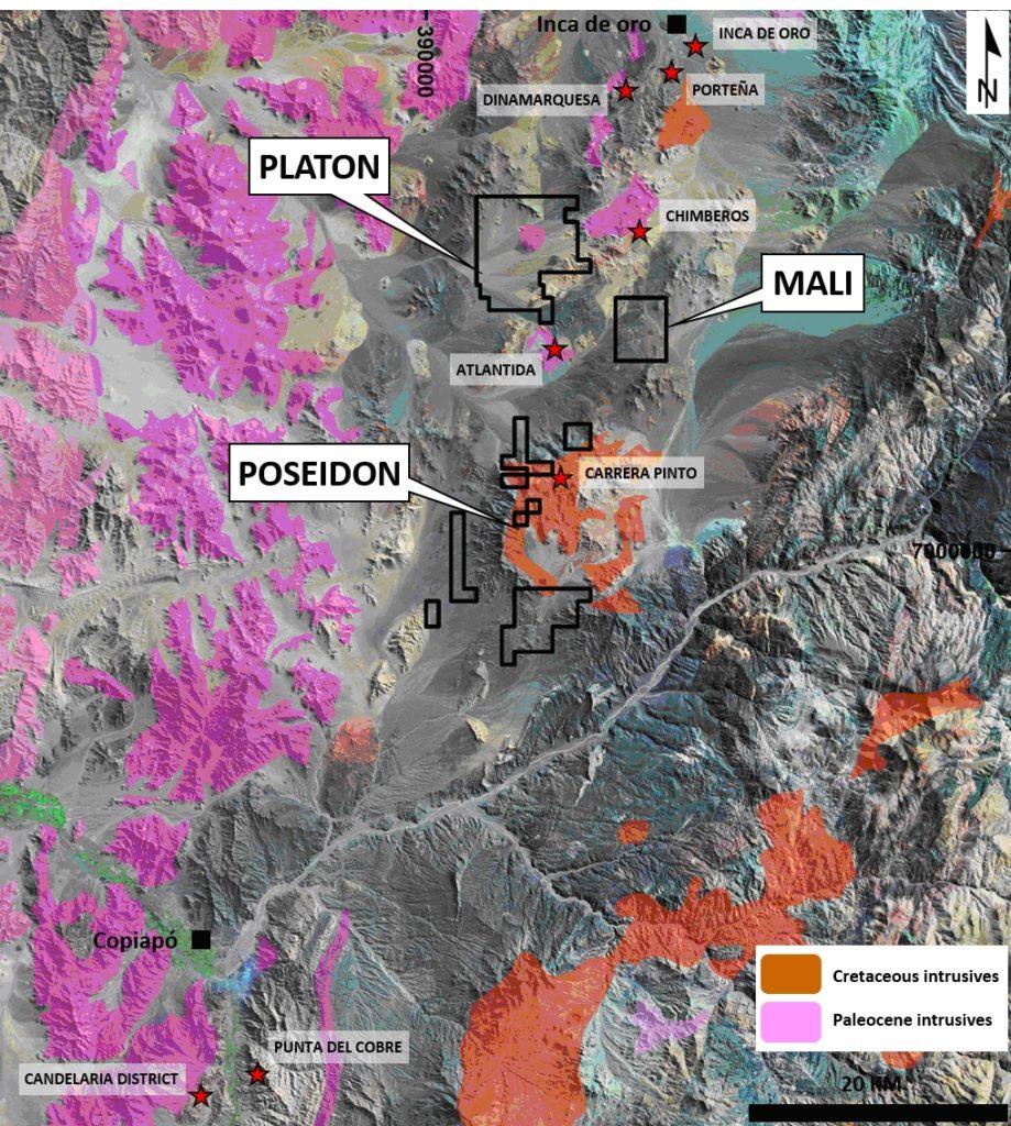 Figure 1. Location of Mali Project.