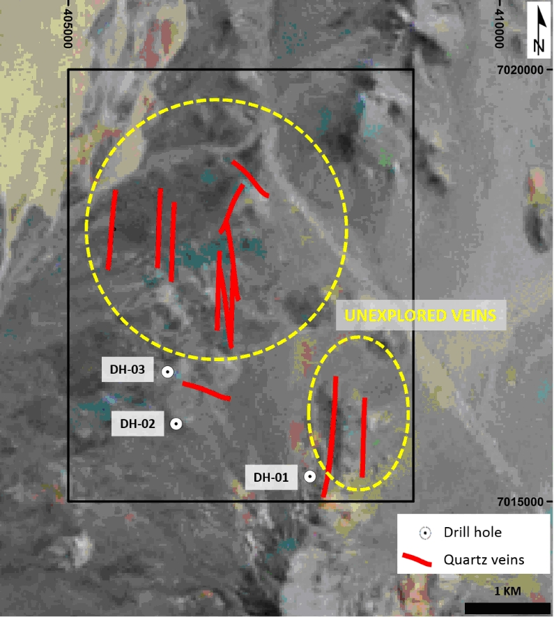 Figure 3. Exploration potential is open in Mali project.
